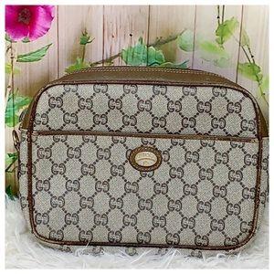 Authentic Gucci Case Vintage Clutch Bag